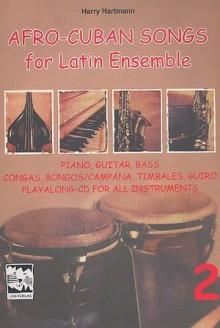 Afro-Cuban-Songs für Latin-Ensemble, Band 2