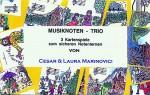 Musiknoten-Trio
