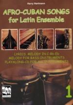 Afro-Cuban-Songs für Latin-Ensemble, Band 1